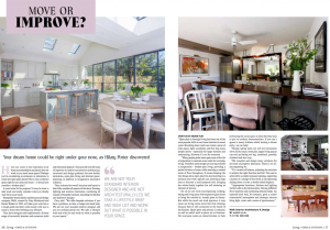 Photo from the Hampshire living article on whether to move or improve your home