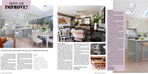 Hampshire Living Page Spread for NBC
