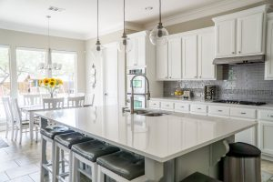 completed kitchen renovation project in Surrey